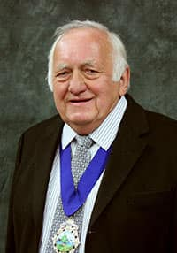 Chairman Cllr Fred White