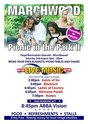 Picnic in the Park - 2nd August 2014