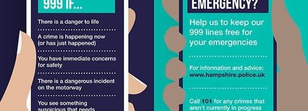 Do you know when to call 999?