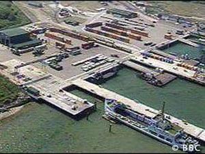 Marchwood military port
