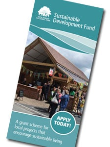 Sustainable Development Fund leaflet