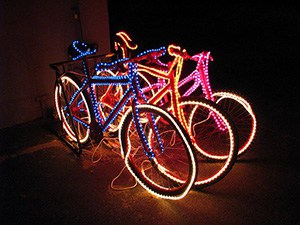 light up your bikes