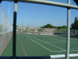 Tennis Court at Lloyd Recreation Ground