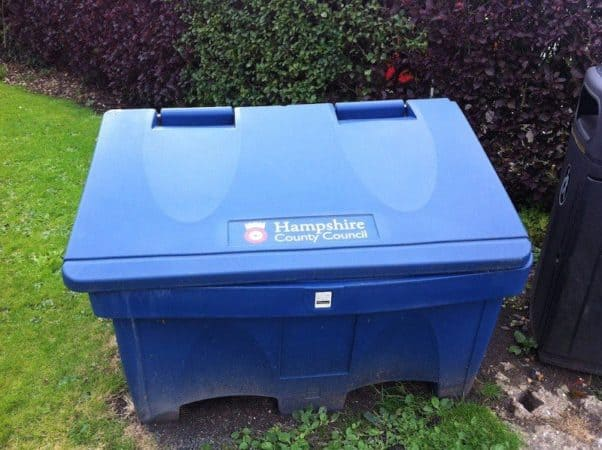 Hampshire Highways Salt Bin
