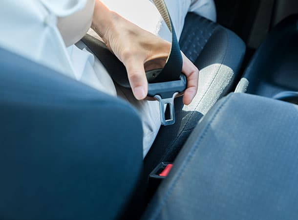 seat belt of motor vehicle